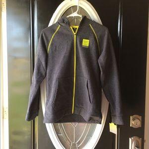 Boys tek gear fleece hooded jacket